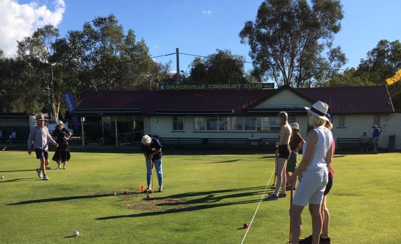 Graceville Croquet Club Is 100 Years Old!