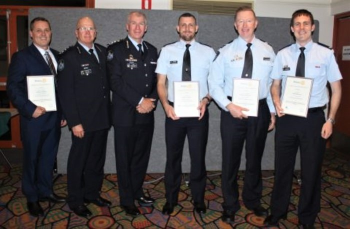 QPS Officers Honoured at Essential Services Awards Held at Yeronga Services and Community Club